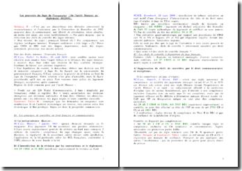 Les pouvoirs du Juge de l'exequatur : De l'arrêt Munzer au règlement 44/2001
