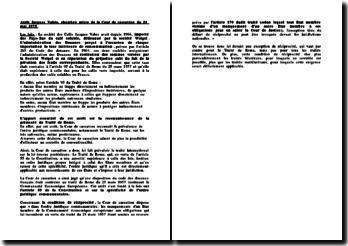 L'arrêt Jacques Vabre du 24 mai 1975