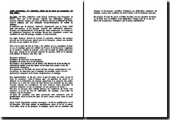 L'arrêt Ballestrero du 21 mars 2000