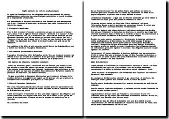 Contrat synallagmatique - règle spéciale