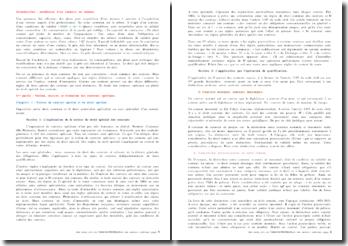 Cours de droit des contrats spéciaux (autre version)