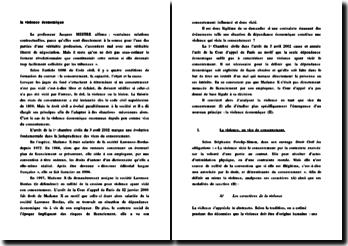 Commentaire d'arrêt : Cass. 1ère Civ. 3 avril 2002