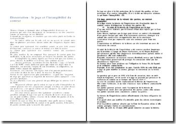 Le juge et l'intangibilité du contrat (version 3)