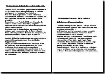 Commentaire de l'article 1112 du code civil