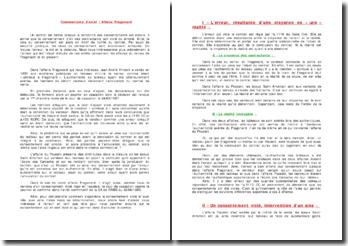 Cass. 1ère Civ. 24 mars 1987 - Fragonard