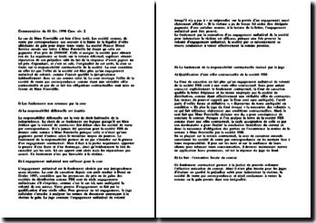 Cass. 2ème Civ. 11 février 1998