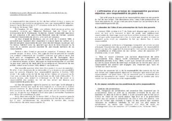 Cass. 2ème Civ. 19 février 1997 - Bertrand