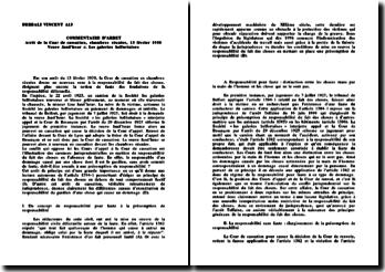 Cassation, 13 février 1930 - Veuve Jand'heur c. Les galeries belfortaises