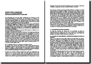 Cassation 3ème Civ. 10 juin 1998