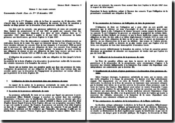 Cassation 3ème Civ. 15 décembre 1993