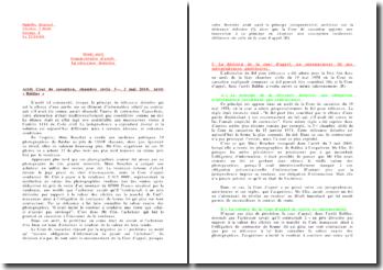Arrêt de la 3ème chambre civile de la cour de cassation du 3 mai 2000