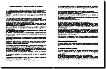 Commentaire Manoukian 26 novembre 2003
