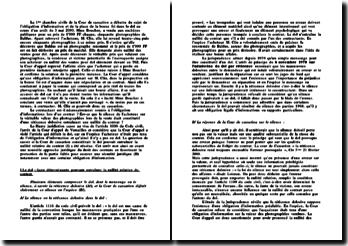 Commentaire d'arrêt Baldus 3 mai 2000