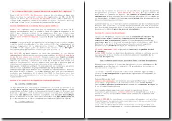 Le règlement intérieur : support du pouvoir normatif de l'employeur