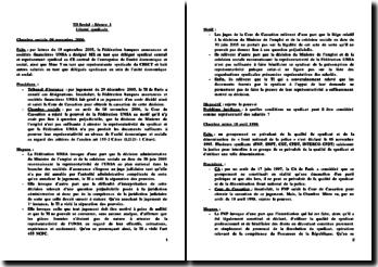 TD sur la liberté syndicale de 9 pages