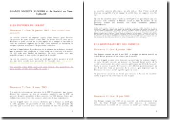 La Société en Nom Collectif (SNC) - autre version