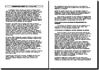 Cass. 1ère Civ. 17 mars 1992