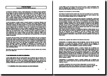 Commentaire de l'article 2286 du code civil
