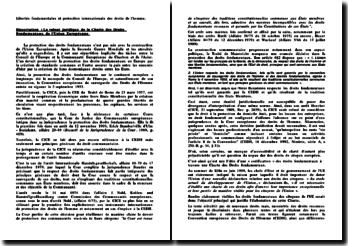 La valeur juridique de la Charte des Droits Fondamentaux de l'Union Européenne