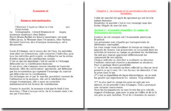 Introduction aux finances internationales