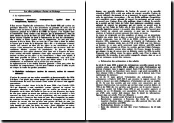 Les offres publiques d'achat et d'échange : la réglementation