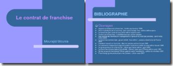La franchise en droit marocain