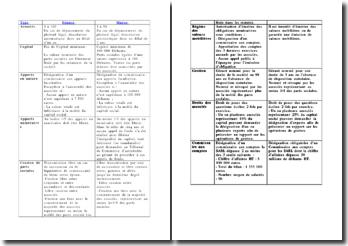 Comparaison entre la SARL au Maroc et la SARL en France