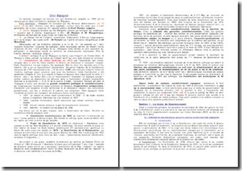 Introduction au droit espagnol
