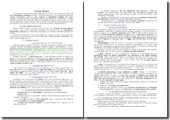 Introduction au droit chinois