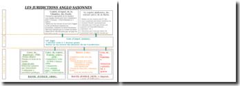 Shéma récapitulatif du système juridictionnel Anglo-Saxon