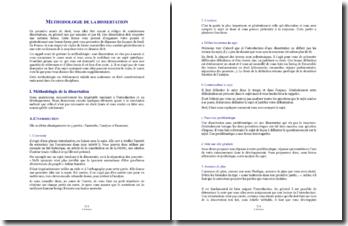 Méthodologie de dissertation en Droit