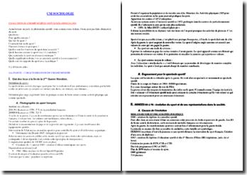 Sociologie du sport (version 2)