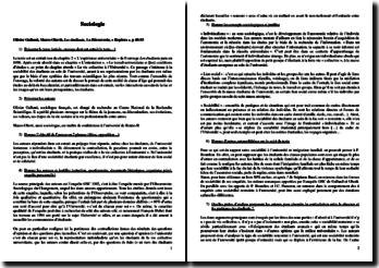 Olivier Galland, Marco Oberti, Les étudiants, Chapitre 2