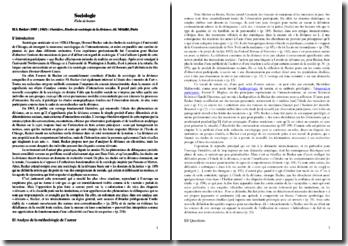 Outsiders, Etudes de sociologie de la déviance - Howard Becker