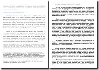 Les travailleurs sociaux, Jacques ION, Bertrand RAVON