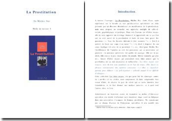 La prostitution, Malika Nor