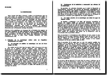 La comitologie - équilibre institutionnel et gouvernance européenne