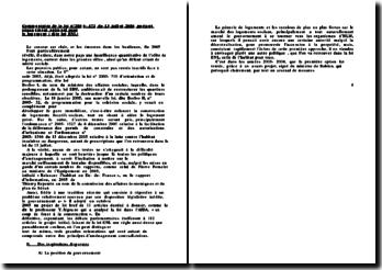 Commentaire de la loi n 2006- 872 du 13 juillet 2006 portant engagement national pour le logement ( dite loi ENL)
