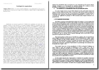 Mathieu AMIECH, 2005, « Les centres d'appels téléphoniques : une certaine idée du service au client »