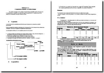 L'organisation comptable: Le système classique