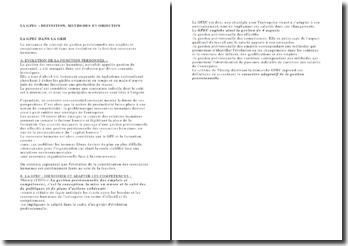 La gestion prévisionnelle des emplois et compétences : définition, méthode, objectifs