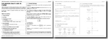 Electrocinétique : Lois générales dans le cadre de l'ARQS