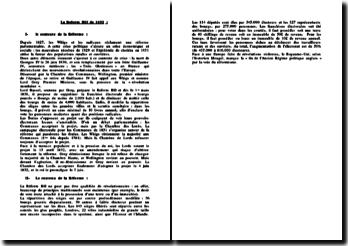 La Reform Bill de 1832