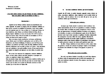Les trois ordres sociaux vus par l'évêque de Laon, Adalbéron, dans son poème dédié au roi Robert le Pieux