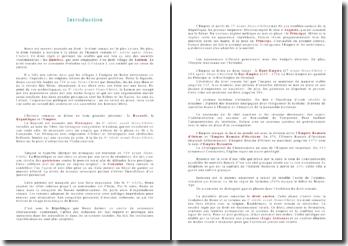 Introduction au droit romain