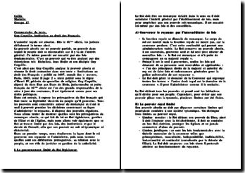 L'Institution au droit des Français, Guy Coquille