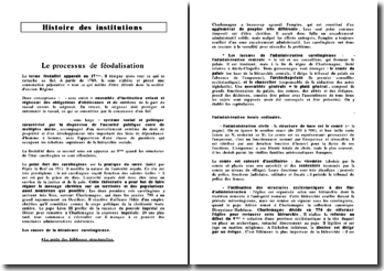 Histoire des Institutions 1