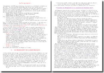 Histoire constitutionnelle de la Vème République