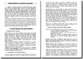Frédéric Mistral et l'identité provençale