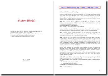 Victor Hugo - découverte de l'auteur